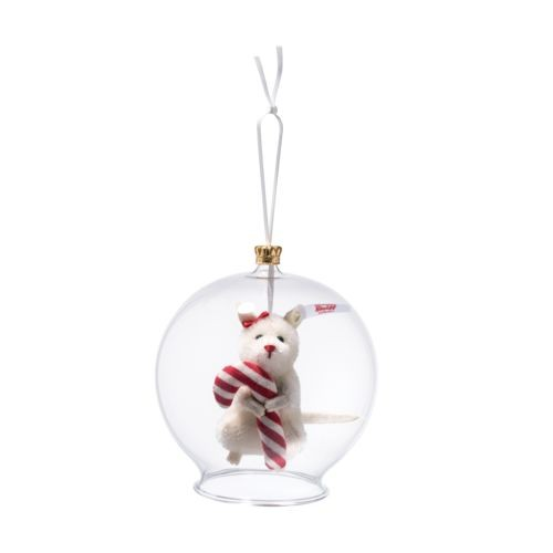 Candy Cane Mouse Bauble