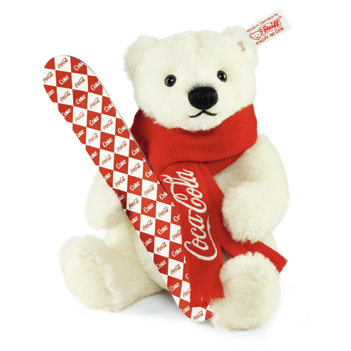 Coca Cola -Polar Bear with Snowboard
