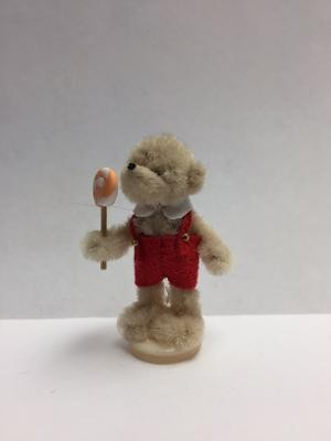 Boy Bear with Lolly - Beige