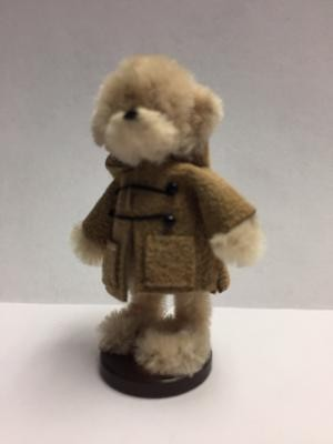 Bear in Brown Dufflecoat