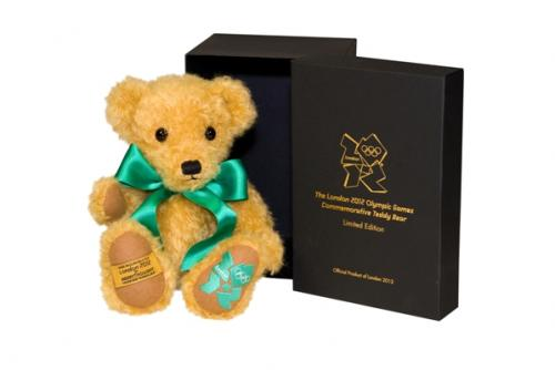 2012 Olympic Bear, Green