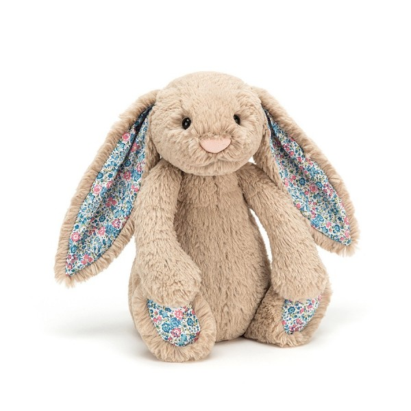 Bashful Blossom  Beige Bunny - Medium