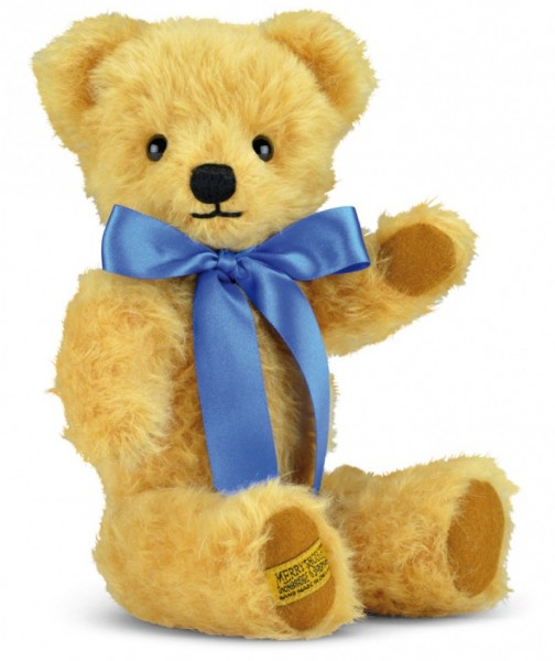 London Curly Gold Teddy Bear 18