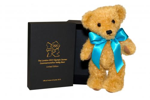 2012 Olympic Bear, Blue
