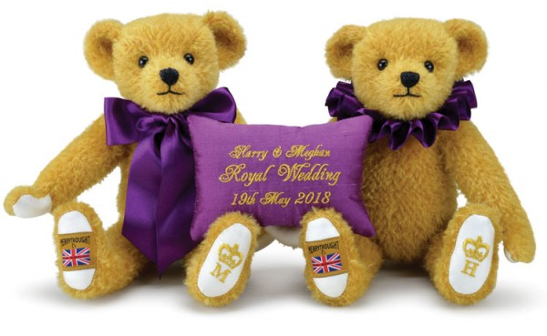 2018 Royal Wedding Teddy Bears