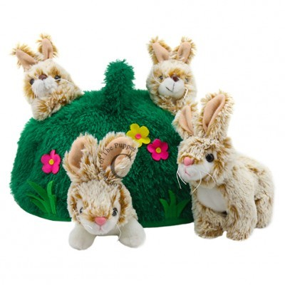 Rabbit Hill Finger Puppet Set